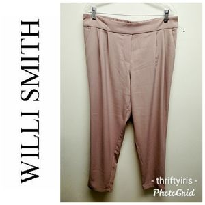 Willi Smith-NWOT-Soft Pink Career Pants-Sz. L